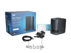 WD 4TB My Cloud EX2 Ultra NAS Network Attached Storage Dual-Core Processor