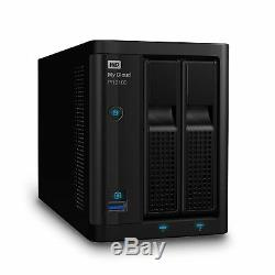WD 4TB My Cloud Pro Series PR2100 Network Attached Storage NAS WDBBCL0040JBK