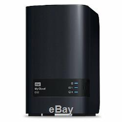 WD 6TB My Cloud EX2 Network Attached Storage Hard Drives NAS WDBVKW0060JCH