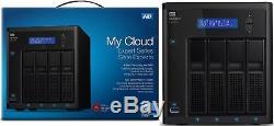 WD 8TB My Cloud EX4100 Expert Series 4-Bay Network Storage NAS WDBWZE0080KBK