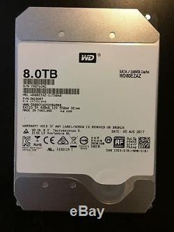 WD 8TB RED SATA NASware 3.0 3.5 SATA III Internal NAS Hard Drive 256mb WD80EZAZ