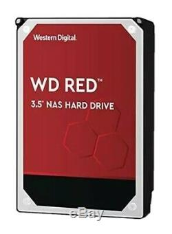 WD 8TB Red NAS 3.5 HDD WD80EFAX 256MB Cache 5400RPM NASware 3 WTY