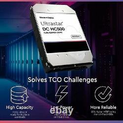 WD/HGST Ultrastar 8TB SATA 4Kn 7200RPM 3.5 Internal HDD HUH721008ALN600 0F27613