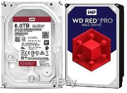 WD Red PRO 6TB NAS Hard Drive Intellipower 256MB WD6003ffbx or WD6003FZBX Black