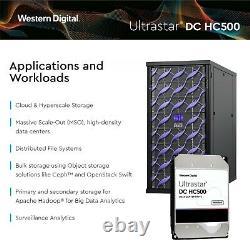 WD Ultrastar DC HC520 12TB SATA 6Gb/s 7200RPM 3.5 HDD HUH721212ALE604 (0F29592)