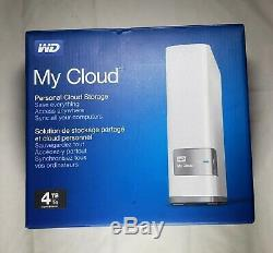WD Western Digital 4tb My Cloud Personal Network Attached Storage NAS
