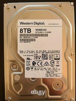WD Western Digital HDD WD80EDAZ 8TB 3.5 SATA 256MB Cache NAS hard drive
