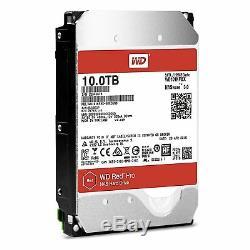 WESTERN DIGITAL RED PRO 10TB NAS 7.2K Hard Drive HD SATA 256 MB Cache WD101KFBX