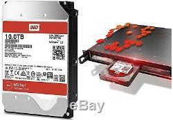 Western Digital 10TB RED NAS RAID WD Hard Drive SATA 6 Gb/s 256MB WD100EFAX