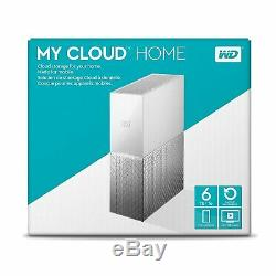 Western Digital 6TB WD My Cloud Home Personal Cloud Hard Drive WDBVXC0060HWT