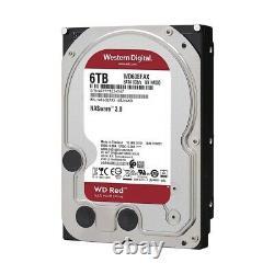 Western Digital Red 3.5 5400 RPM 6TB NAS Internal Hard Drive WD60EFAX