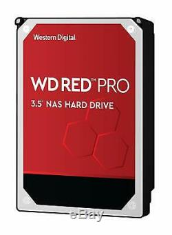 Western Digital WD RED PRO WD101KFBX 10TB NAS 7200RPM SATA 6 Gb/s 256MB 3.5
