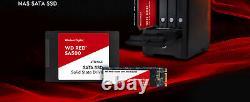 Western Digital WD Red SA500 2TB, M. 2 2280, SATA III, NAS SSD (WDS200T1R0B)