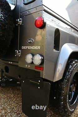 X6 Land Rover Defender Rear LED Clear NAS lamp/light Twisted 95mm Plug & Play
