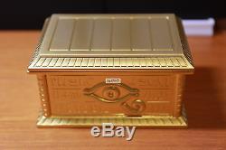 Yugioh NAS MOVICGold Sarcophagus11 Metallic Figure Sealed